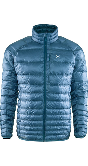 Haglöfs M's Essens III Down Jacket STEEL SKY/BLUE INK